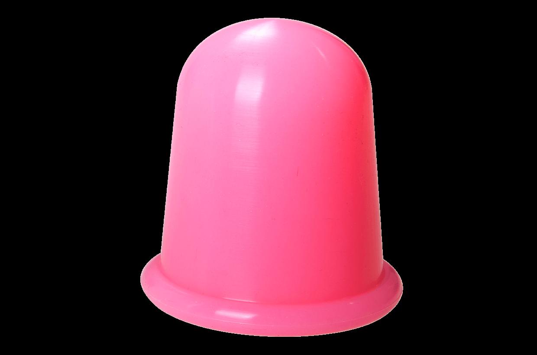 Silikonová baňka L Růžová