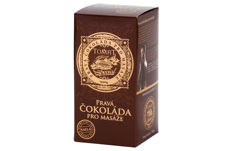 Pravá čokoláda pro masáže 700 g