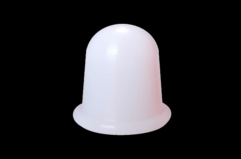 Silikonová baňka M Bílá