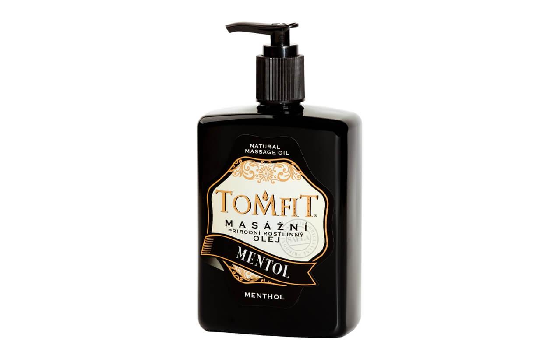 Masážní rostlinný olej Mentolový 500 ml
