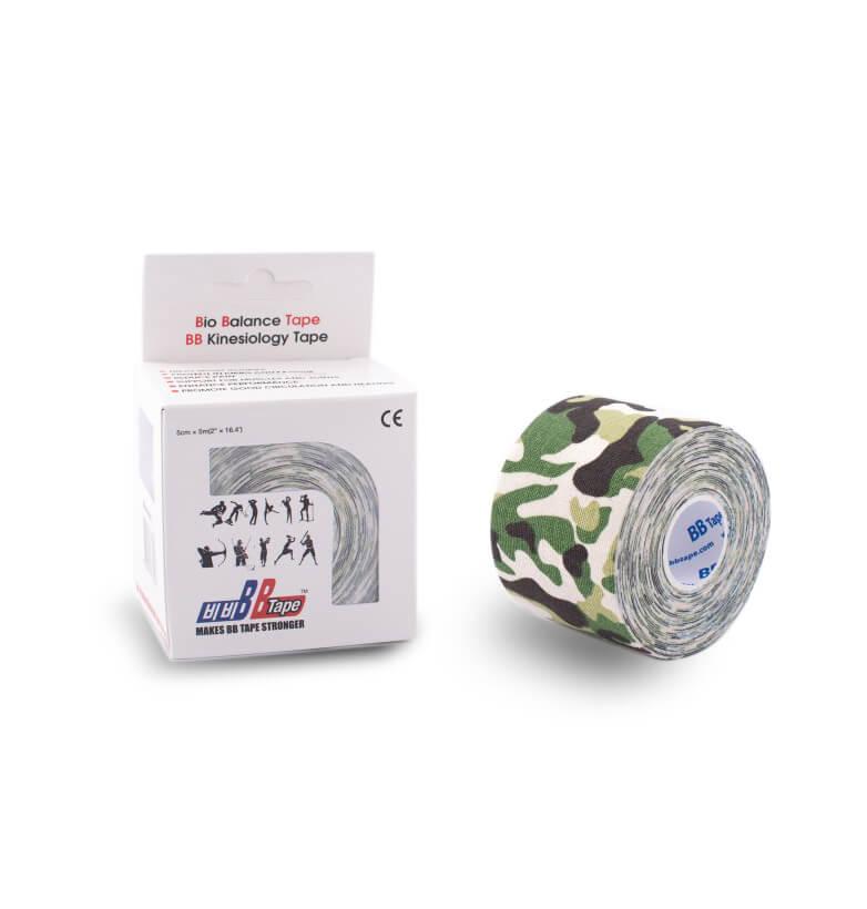 BB tape MASKÁČ 5cm x 5m   maskáč zelená