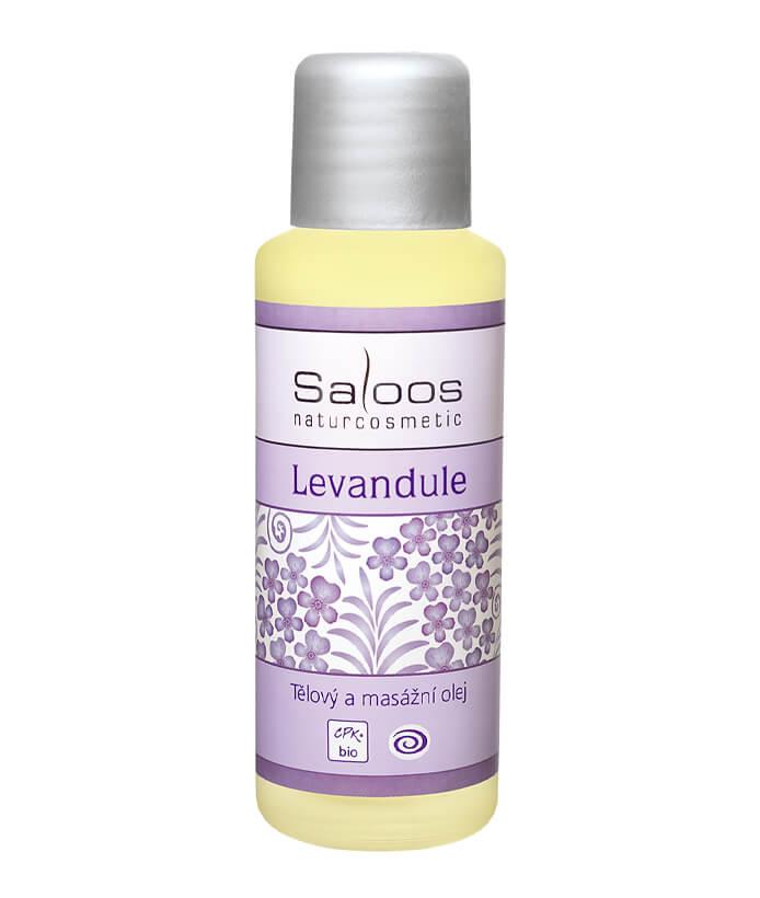 Tělový a pleťový masážní olej Levandle 500ml