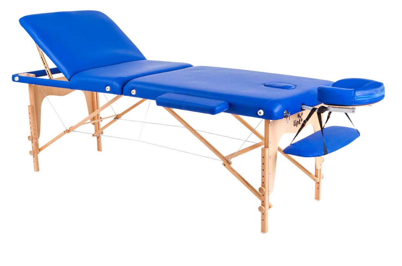 Masážní lehátko Lipt® D-05V Modrá