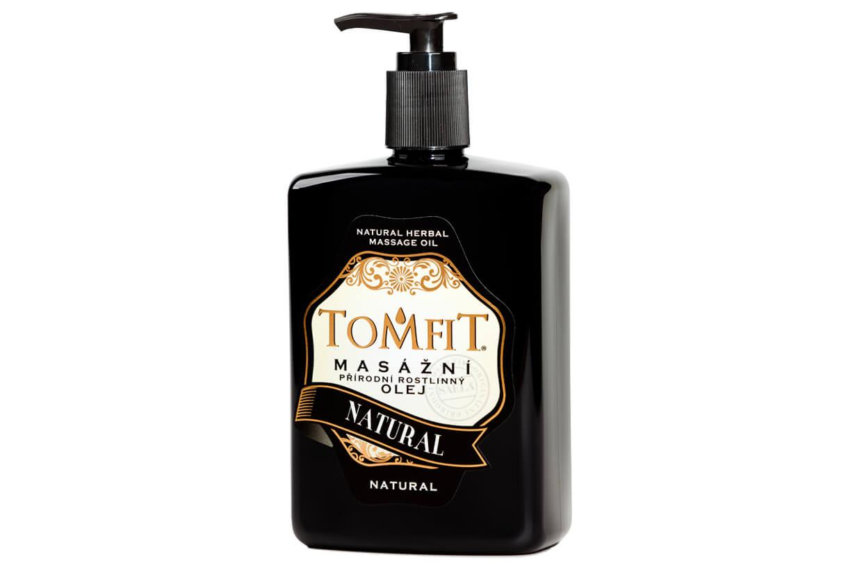 Masážní olej  Natural 500 ml