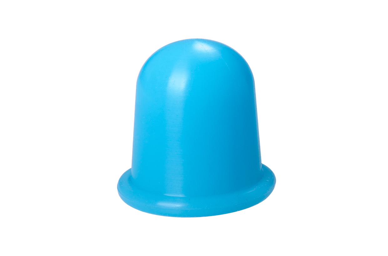 Silikonová baňka M Modrá
