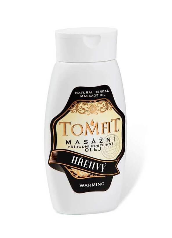Masážní olej Hřejivý 250 ml
