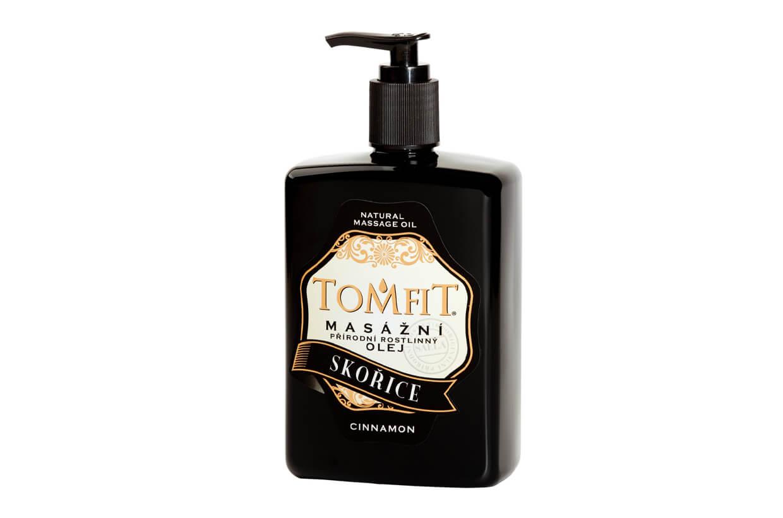 Masážní rostlinný olej Skořicový 500 ml