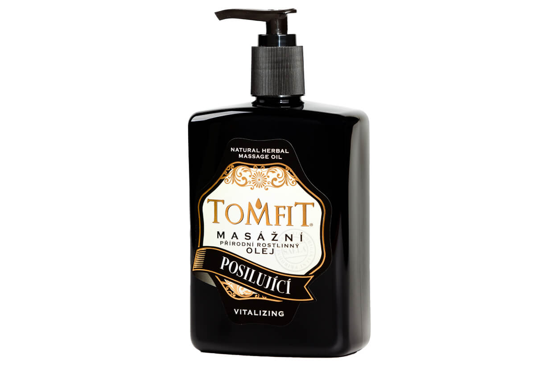 Masážní olej Posilující 500 ml