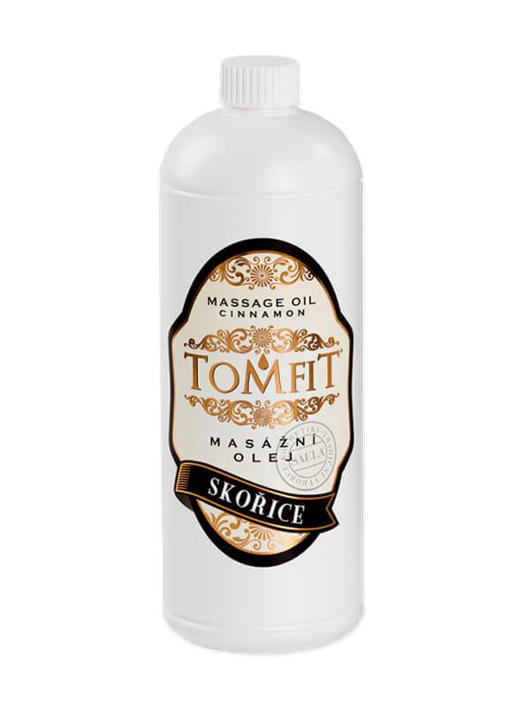 Masážní olej Skořice 1l