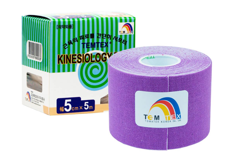 TEMTEX tape Classic 5 cm x 5 m Fialová