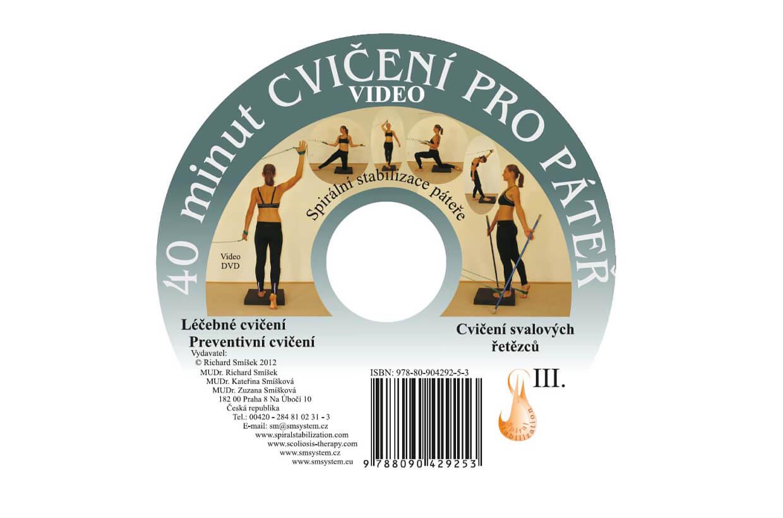 DVD 40 cviků