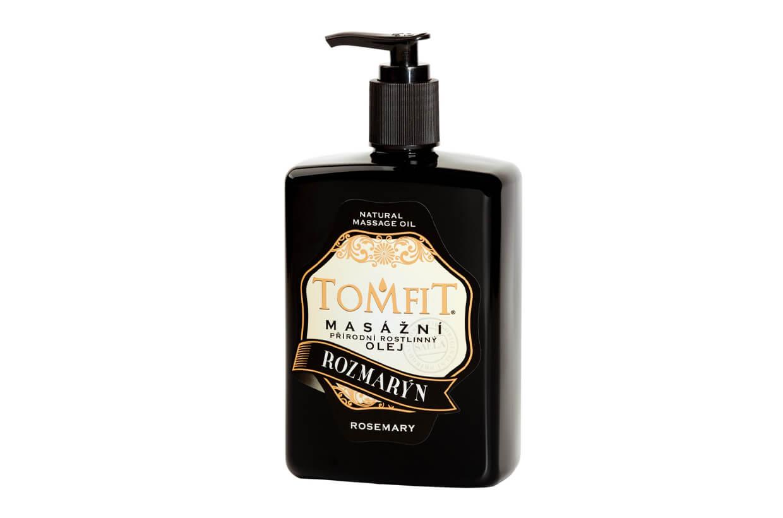 Masážní rostlinný olej Rozmarýnový 500 ml