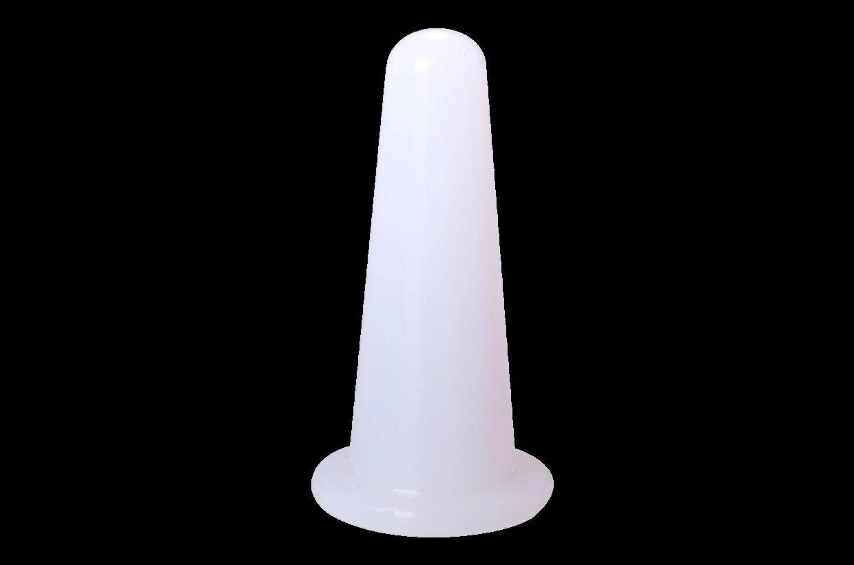 Silikonová baňka S Bílá