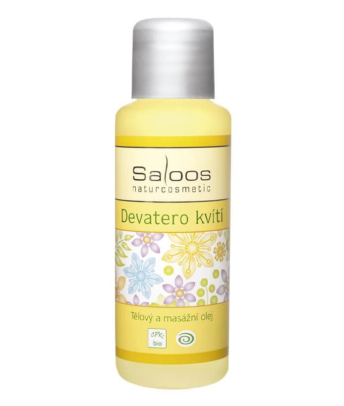 Tělový masážní olej Devatero kvítí 1000ml