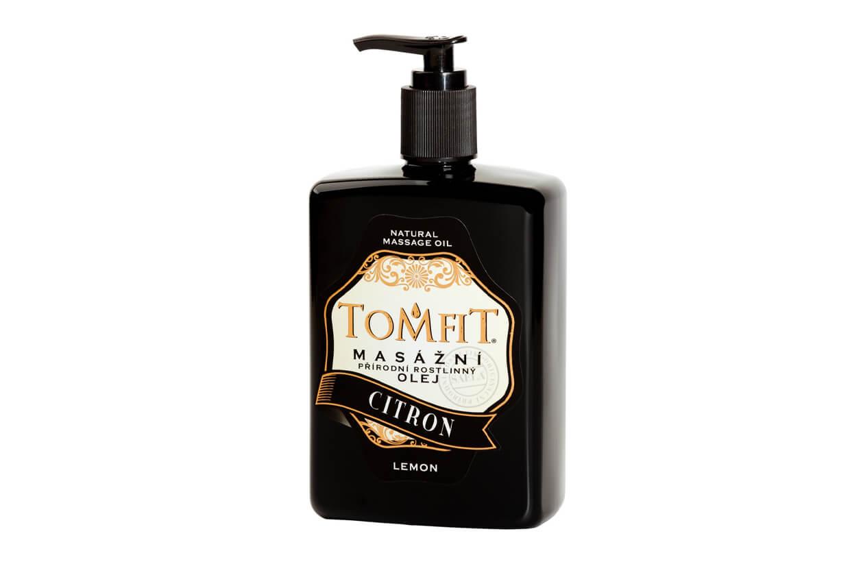 Masážní rostlinný olej Citrónový 500 ml