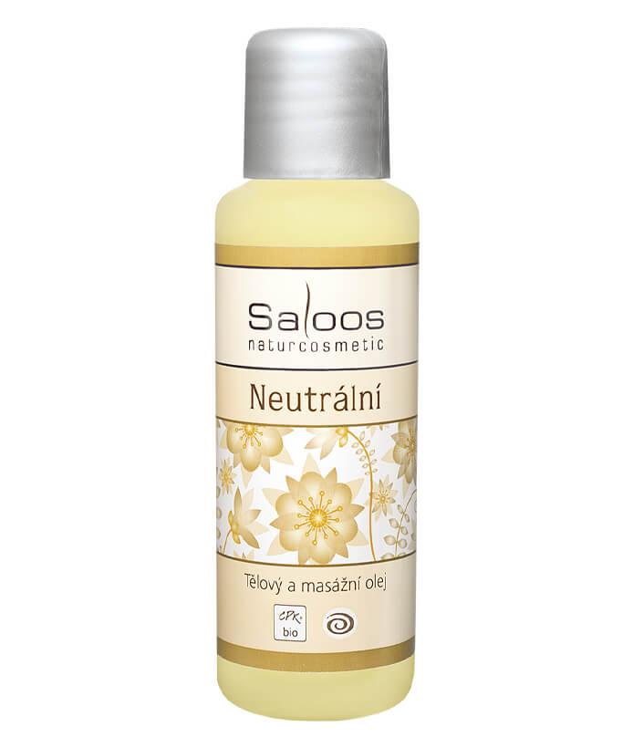 Tělový a pleťový masážní olej Neutrální 500ml