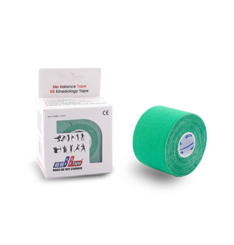 BB tape 5cm x 5m Zelená