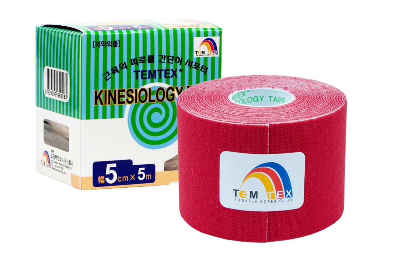 TEMTEX tape Classic 5 cm x 5 m Červená