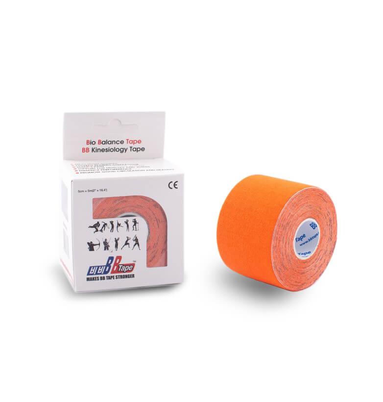 BB tape 5cm x 5m Oranžová