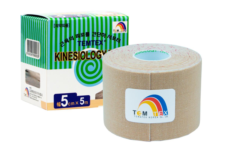 TEMTEX tape Classic 5 cm x 5 m Béžová