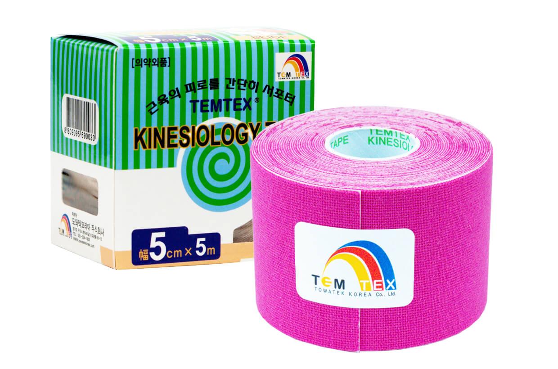 TEMTEX tape Classic 5 cm x 5 m Růžová