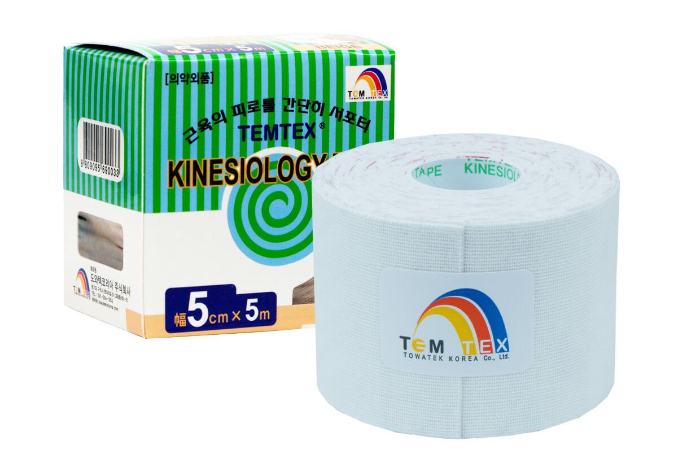 TEMTEX tape Classic 5 cm x 5 m Bílá