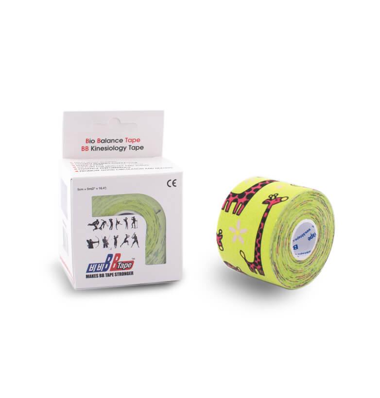 BB tape pro citlivou pokožku PRO DĚTI 5cm x 5m