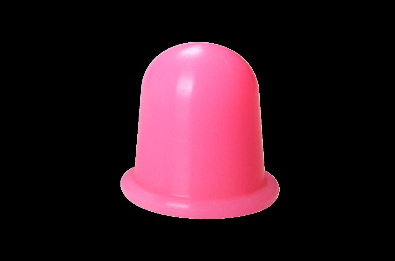 Silikonová baňka M Růžová