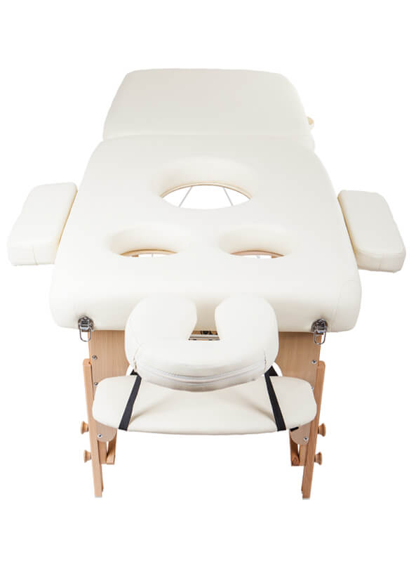 Masážní lehátko Lipt® DT-03 (těhotenské)  Oranžová