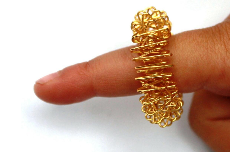 Akupresurní masážní prsten