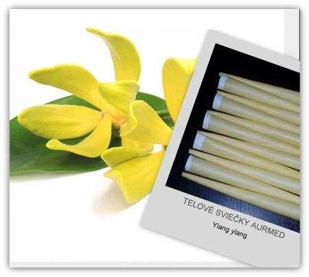 Tělové svíčky ylang ylang 5ks
