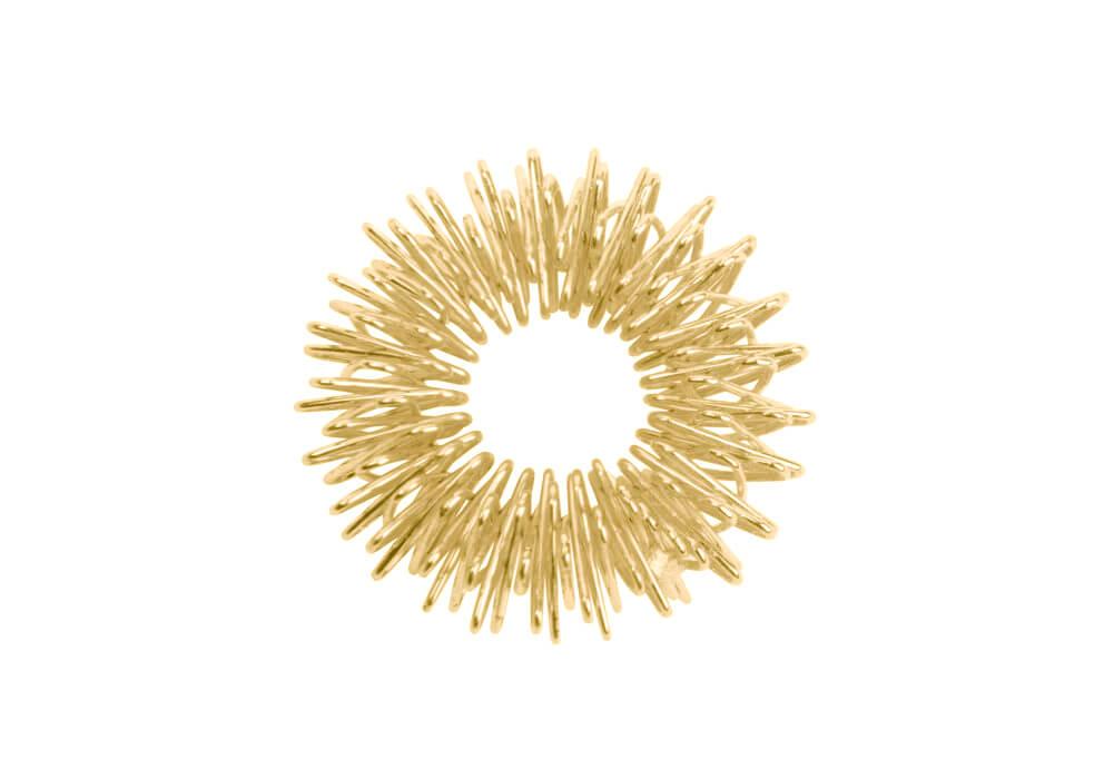 Akupresurní masážní prsten Zlatá