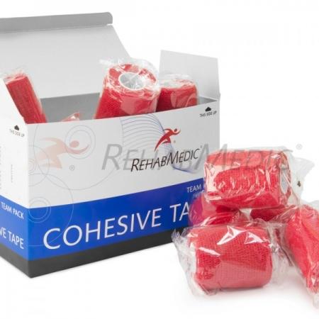 Cohesive tape 5cm x 4,6m Červená