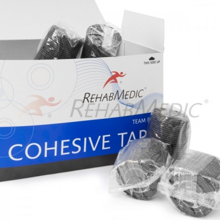Cohesive tape 5cm x 4,6m Černá