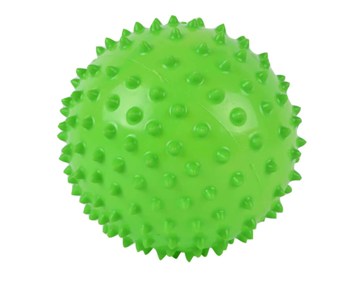 Masážní míček ježek zelený  10cm