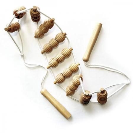 Masážní pás - celodřevěný