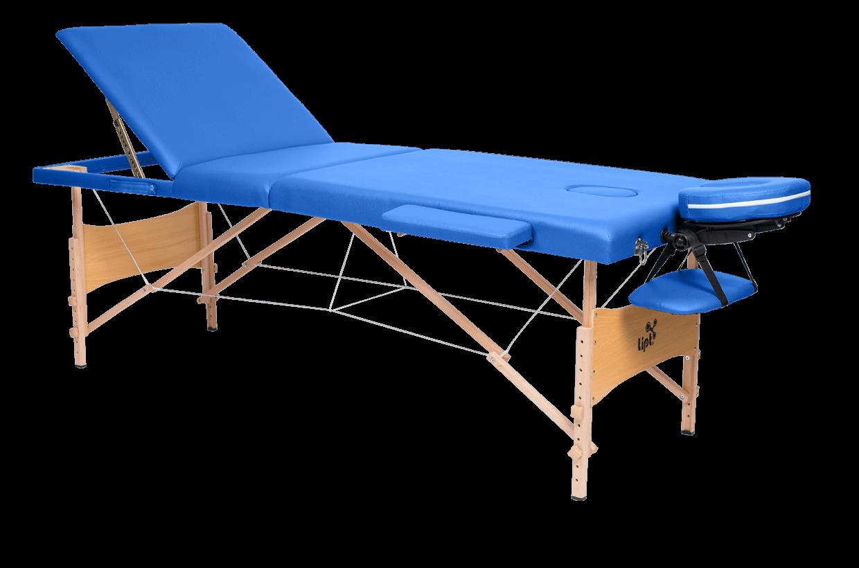 Masážní lehátko Lipt® DS-01V Modrá