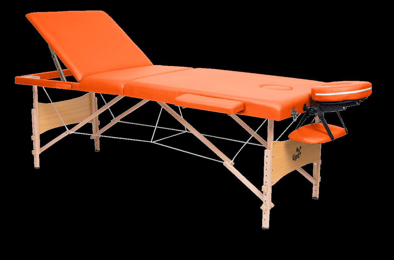 Masážní lehátko Lipt® DS-01V Oranžová