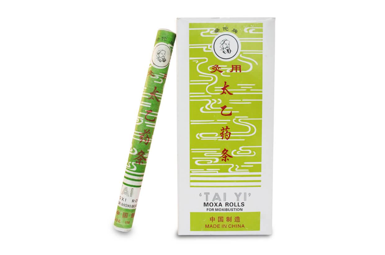 Moxovací tyčinka dlouhá bylinná Tai yi na chlad 10ks