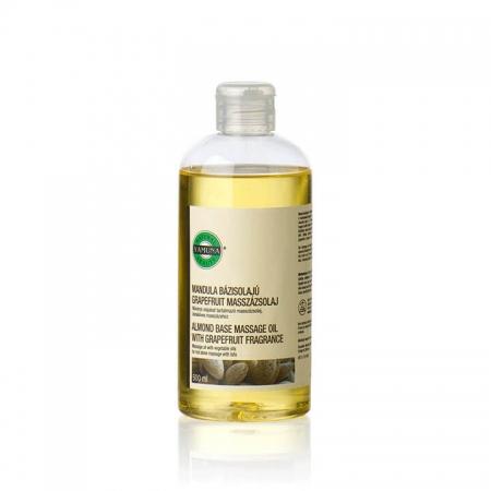 Mandlový masážní olej bez vůně 500ml