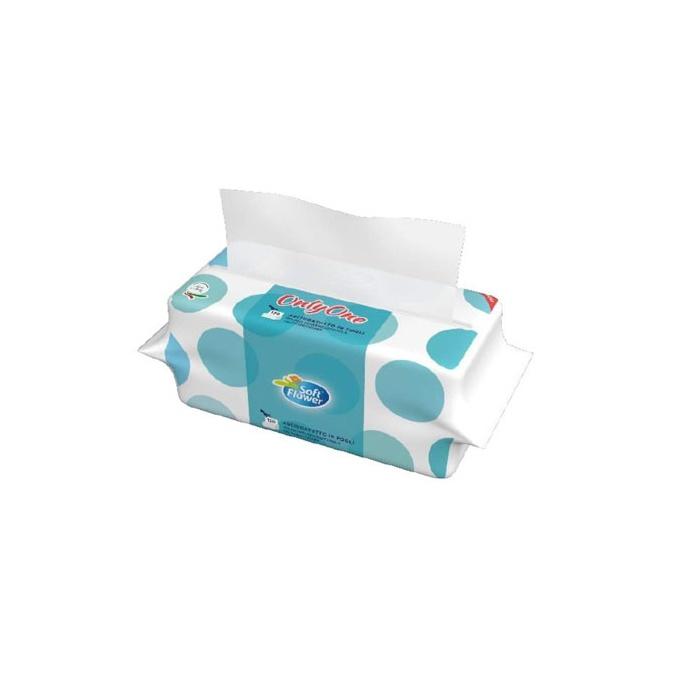 Papírové utěrky Z-Z / 120ks - 2 vrstvy bílé v obalu