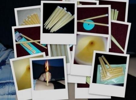 Tělové svíčky rozmarýnové 5ks