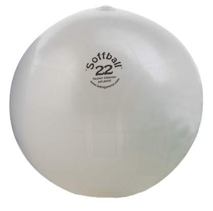 PEZZI SoffBall MAXAFE 22 cm Bílá