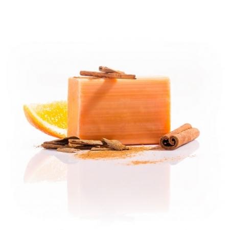 Pomeranč-skořice mýdlo lisované za studena 110g