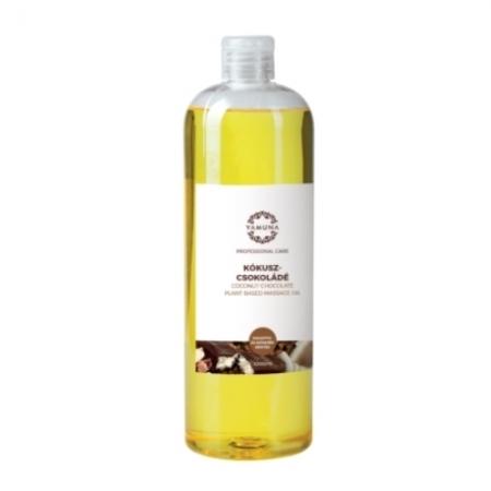 Kokosovo-čokoládový rostlinný masážní olej 1000ml