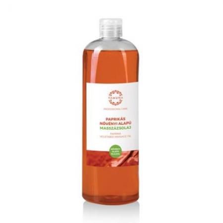 Paprikový rostlinný masážní olej 1000ml