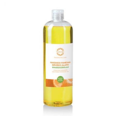 Pomerančovo-skořicový rostlinný masážní olej 1000ml