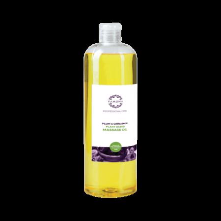 Švestkově-skořicový rostlinný masážní olej 1000ml