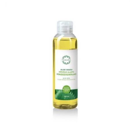 Aloe vera rostlinný masážní olej  250ml