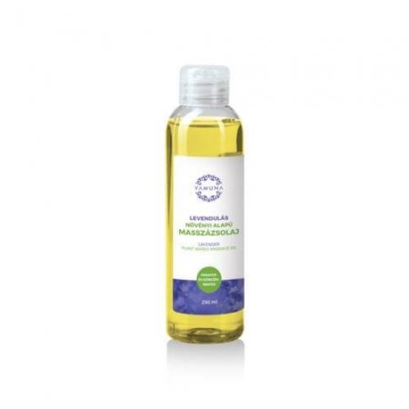 Levandulový rostlinný masážní olej  250ml